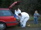 Bergung eines toten Zugvogels (15.04.2006)